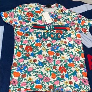 2020 GUCCI OVER FLOWER PRINT